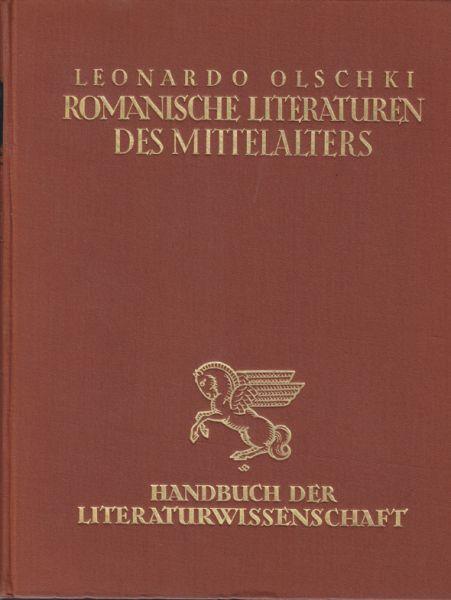 Die romanischen Literaturen des Mittelalters.