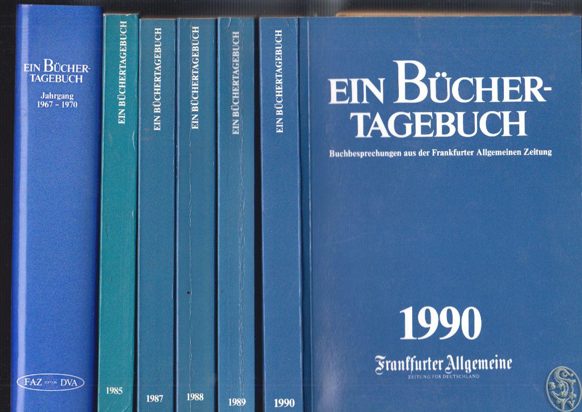 Bücher-Tagebuch, Ein. Buchbesprechungen aus der Frankfurter Allgemeinen Zeitung.