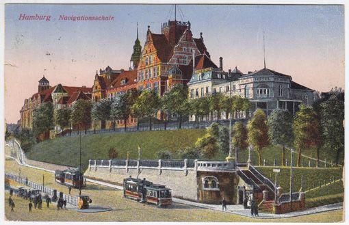 Hamburg. Navigationsschule.