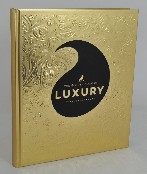 THE GOLDEN BOOK OF LUXURY.