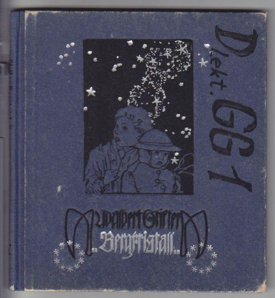 GERLACHS JUGENDBÜCHER - STIFTER, Adalbert. Bergkristall. Text durchgesehen v. Hans Fraungruber.