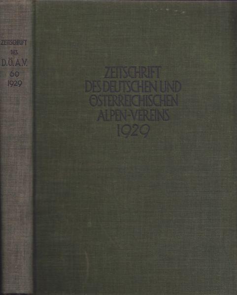 Zeitschrift des Deutschen und Österreichischen Alpenvereins. Geleit. v. Hanns Barth.