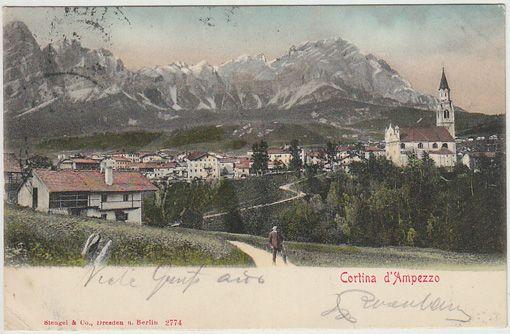 Cortina d`Ampezzo.