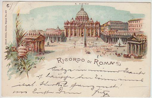 Ricordo di Roma. S. Pietro.