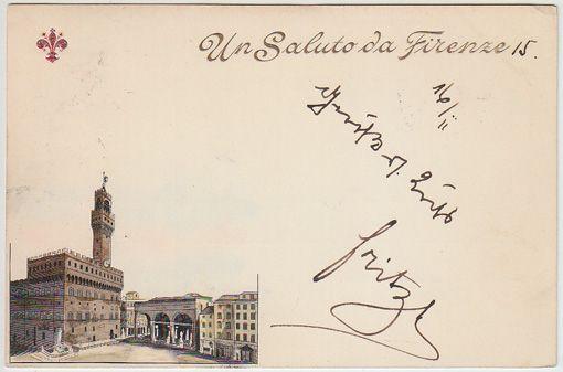 Un Saluto da Firenze.