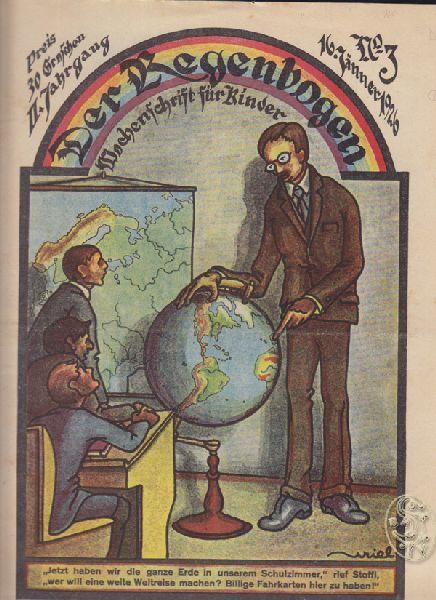 Der Regenbogen. Wochenschrift für Kinder. Red. Christine Olden-Fournier.