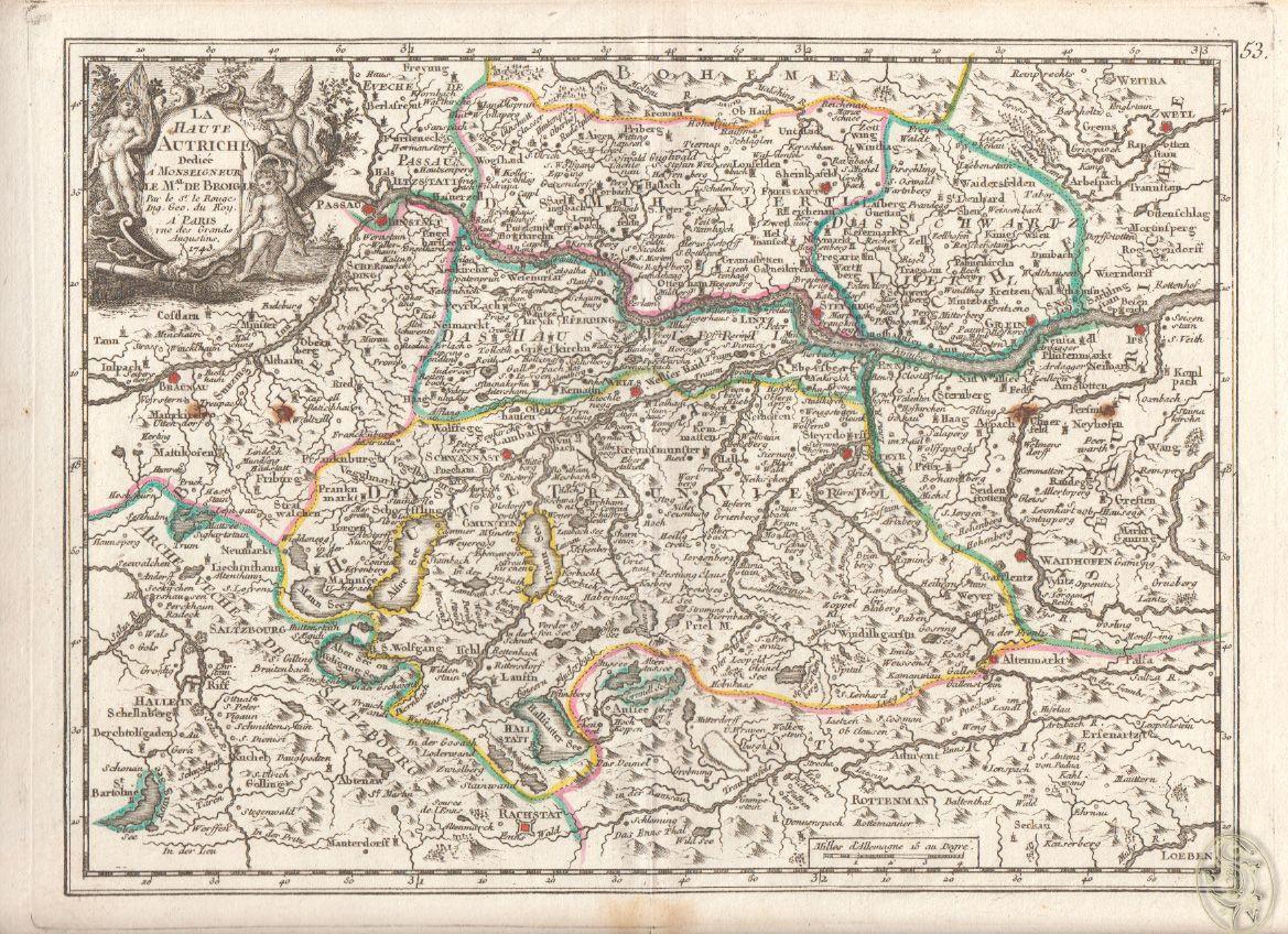 La Haute (&) Basse d`Autriche.