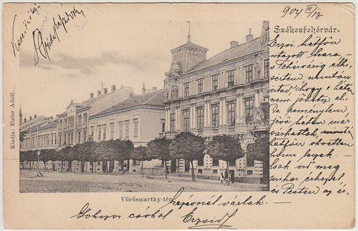 Székesfehérvár. Vörösmarthy-tér.