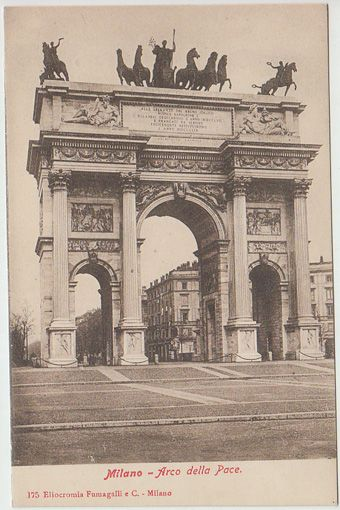 Milano - Arco della Pace.