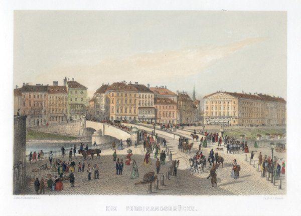 Die Ferdinandsbrücke.