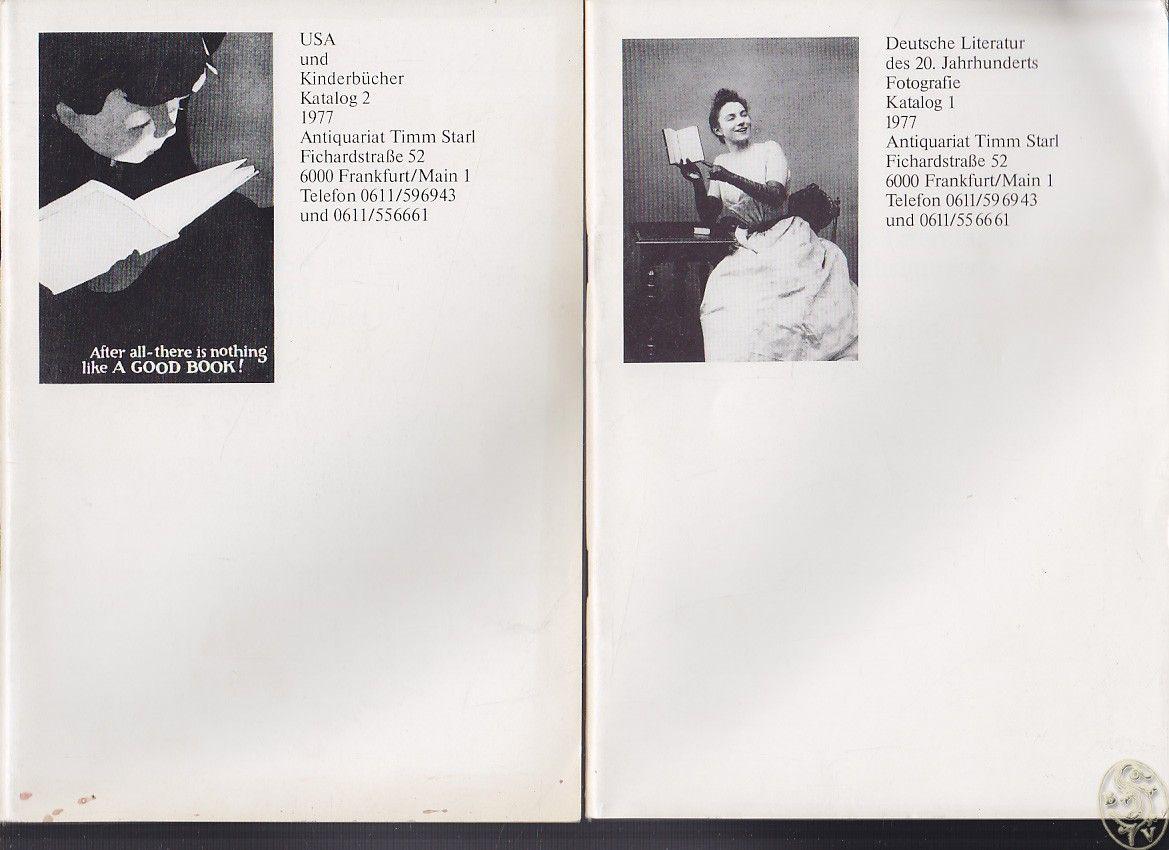 Antiquariat Timm Starl. Kataloge 1-7.