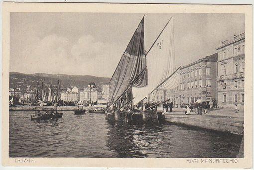 Trieste. Riva Mandracchio.