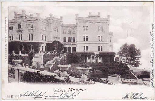 Schloss Miramar.