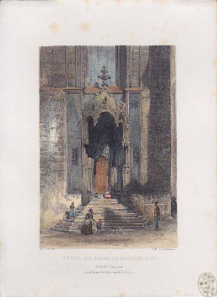 Portal der Kirche zu Maria Stiegen.