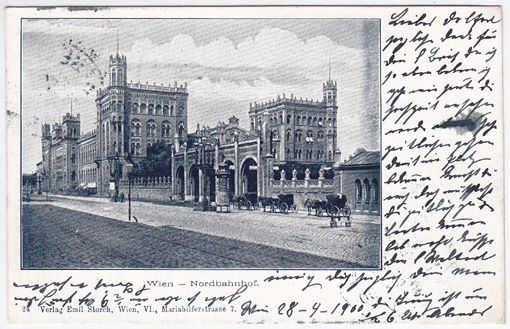 Wien - Nordbahnhof.