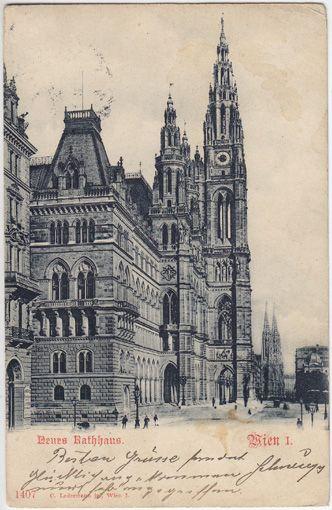 Wien I. Neues Rathaus.