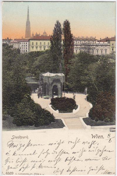 Wien. Stadtpark.