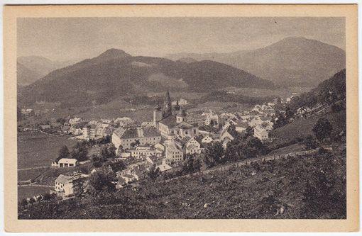 """Steiermark, Mariazell. Styria, """"Mariazell"""" pilgrimage, Cult of the saint-virgin. Styria, """"Mariazell"""" (endroit de pélerinage, voué au culte de la vierge)."""