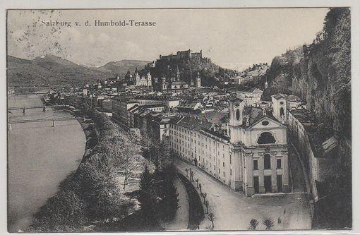 Salzburg v. d. Humbold-Terasse.