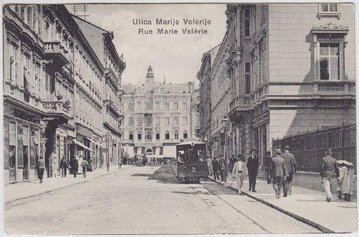 Ulica Marije Valerije. Rue Marie Valérie.