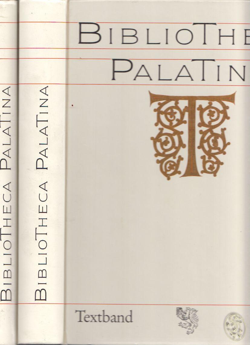 BIBLIOTHECA PALATINA. Hrsg. v. Elmar MITTLER u.a. Katalog zur Ausstellung vom 8 Juli bis 2. Nov. 1986.