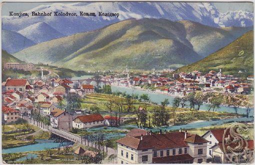 Konjica, Bahnhof Kolodvor.