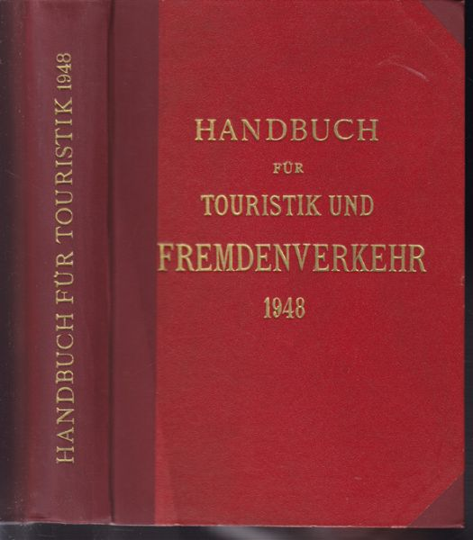 Handbuch für Touristik und Fremdenverkehr.
