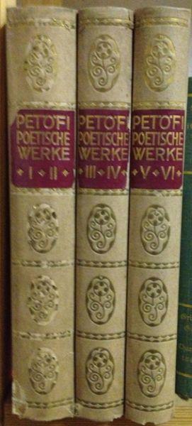 Poetische Werke. In deutscher Nachdichtung von Ignaz Schnitzer.