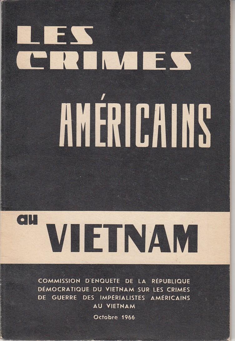 Les crimes américains au vietnam. Mit Abbn.