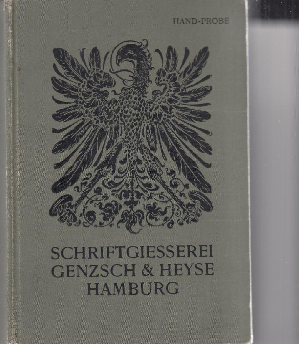 Proben von Schriften, Initialen und Verzierungen. Hand-Probe 1902.