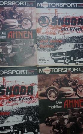 Motorsport 3. Jahrgang Heft Nr. 3  (2. Februarheft 1953), Fachblatt für den Motorrennsport und Motorsport, SELTEN! Titelblatt mit geringen Gebrauchsspuren, ansonsten gutes Exemplar,