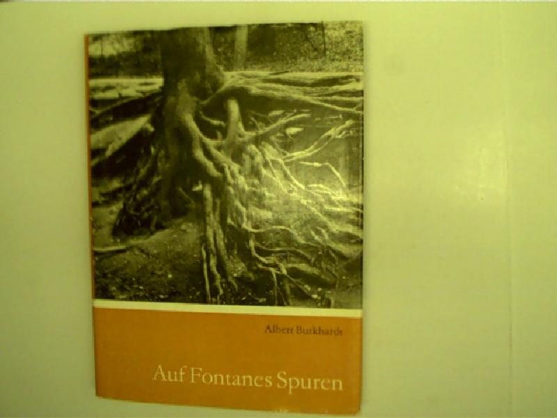 Auf Fontanes Spuren, Wanderungen in Oderland und Spreeland, 1. Auflage, gutes Exemplar,