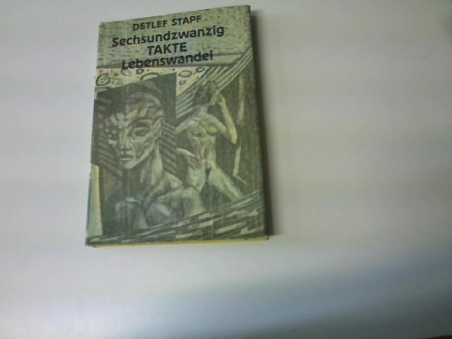 Sechsundzwanzig Takte Lebenswandel, Originalausgabe,