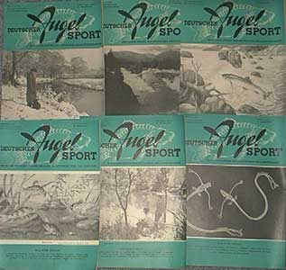 Deutscher Angelsport - 18. Jahrgang, Heft 2, 1966, Deckblatt mit nur etwas Gebrauchsspuren, Stempel auf der Rückseite, ansonsten gutes Exemplar,
