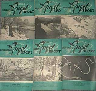 Deutscher Angelsport - 18. Jahrgang, Heft 8, 1966, Deckblatt mit nur etwas Gebrauchsspuren, Stempel auf der Titelseite, ansonsten gutes Exemplar,