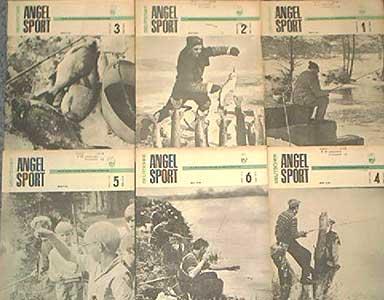 Schubert, Horst: Deutscher Angelsport - 25. Jahrgang, Heft 6, 1973, Deckblatt mit etwas Gebrauchsspuren, Stempel auf der Titelseite, ansonsten gutes Exemplar,