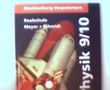 Physik, Lehrbuch für die Klassen 9/10 - Mecklenburg Vorpommern - Realschule, 2. Auflage, Schulstempel auf der ersten unbeschriebenen Seite, ansonsten sehr gutes Exemplar,