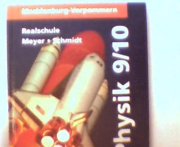Physik, Lehrbuch für die Klassen 9/10 - Mecklenburg-Vorpommern - Realschule, 2. Auflage, Stempel auf der ersten unbeschriebenen Seite, ansonsten gutes Exemplar,