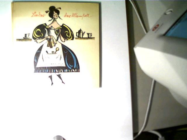 Lieder der Mamsell, 2. Auflage, Buchdeckel am oberen Rand und die ersten bzw. letzten beiden Seiten altersentsprechend, ansonsten gutes Exemplar,