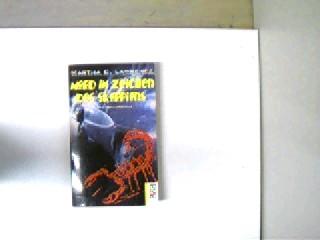 Mord im Zeichen des Skorpions, Kriminalroman, Stempel auf der Titelseite, ansonsten gutes Exemplar,