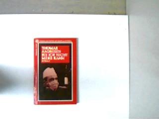 Bis ich nicht mehr kann, Kriminalroman, Stempel auf der Titelseite und auf der vierten unbeschriebenen Seite, ansonsten gutes Bibliotheksexemplar,