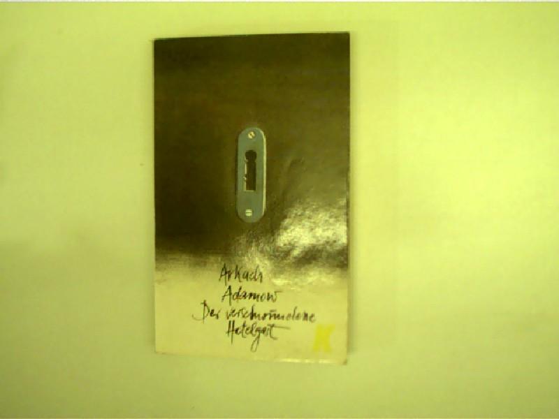 Der verschwundene Hotelgast, Kriminalroman, 1. Auflage, Deckelvorder- und -rückseite mit kleinen Gebrauchsspuren, ansonsten gutes Exemplar,