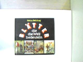 Blätter, die die Welt bedeuten, 3. Auflage, gutes Exemplar,