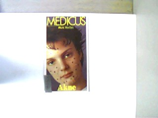Akne, Bibliotheksexemplar, 1. Auflage, Stempel auf der Titelseite, Bücherei-Aufkleber auf dem Deckel und auf der letzten unbeschriebenen Seite, ansonsten gutes Exemplar,