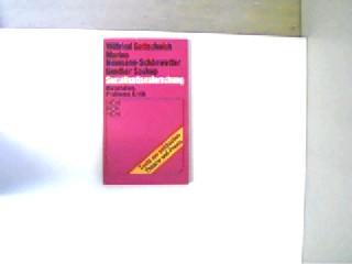 Sozialisationsforschung, Materialien, Probleme, Kritik, 151.-165. Tsd., gutes Exemplar,