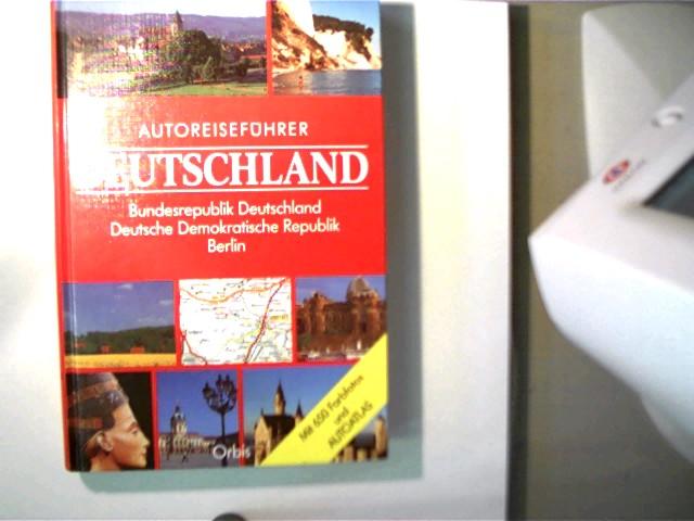 Autoreiseführer Deutschland, Bundesrepublik Deutschland und Deutsche Demokratische Republik; sehr  gutes Exemplar,