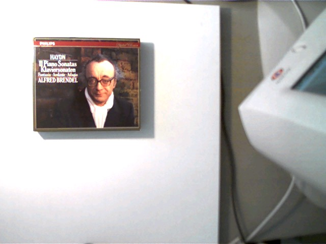 Alfred Brendel: Haydn, 11 Klaviersonaten, CD 1-3 sehr guter Zustand, CD 4 mit wenigen Kratzern,