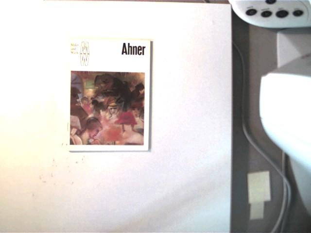 Ahner, Maler und Werk, eine Kunstheftreihe, gutes Exemplar,