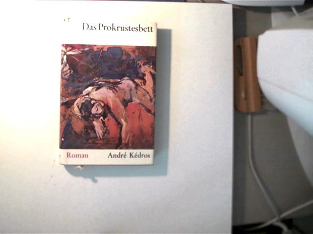 Das Prokrustesbett, Roman, Schutzumschlag mit minimalen Gebrauchsspuren, ansonsten gutes Exemplar,