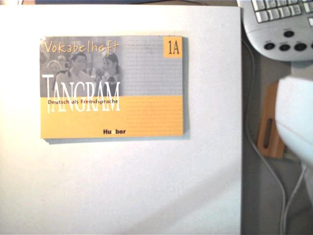 Tangram Vokabelheft 1A, Deutsch als Fremdsprache, 1. Auflage, sehr gutes Exemplar,